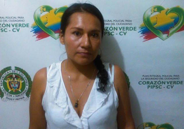 Capturada enfermera por extorsión en Mocoa