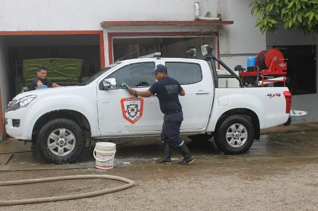 Cuerpo de bomberos de Leguízamo recibió un nuevo vehículo para combatir incendios