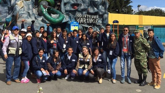 Niños del Putumayo le apuestan a la educación para lograr la Paz