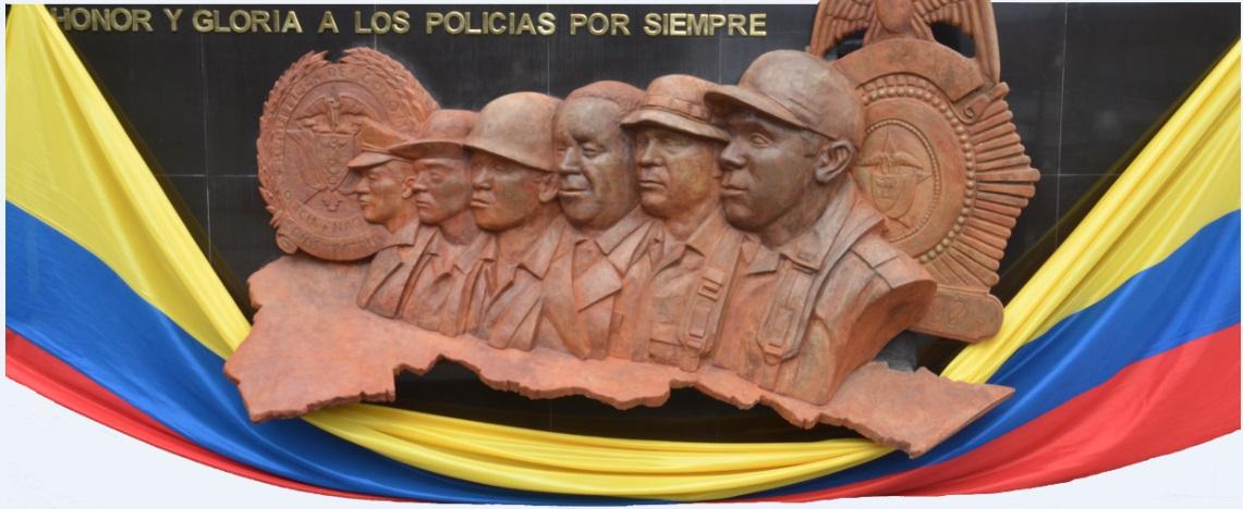 Policía Putumayo construye monumento en memoria de Policías que ofrendaron su vida