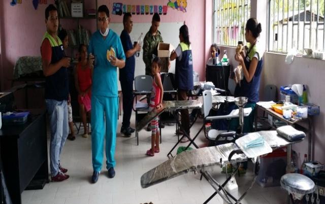 Jornada de Apoyo al Desarrollo en la Vereda Villa Duarte Municipio Valle del Guamuez- Putumayo