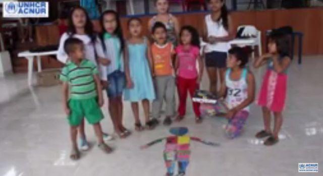 Un cofre de esperanzas para la Mochila Viajera desde Putumayo, Colombia