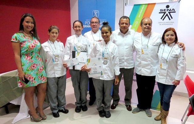 Caribe, Oriente y centro del país en podio de Cocina Gourmet