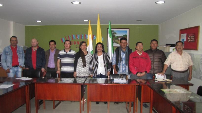 Concejo Municipal de Colón, muestra de trabajo en equipo
