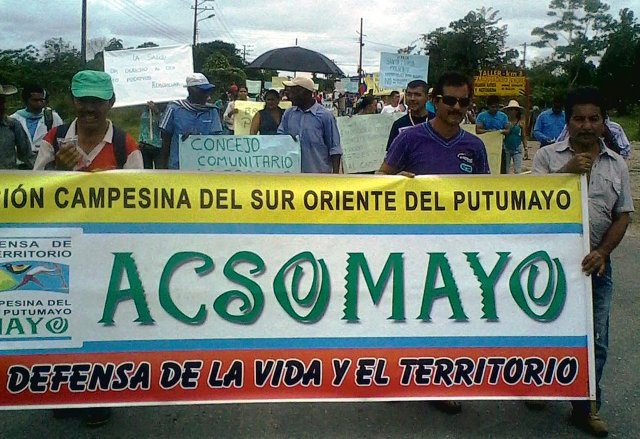 Crisis laboral en corredor Puerto Vega Teteye, Putumayo