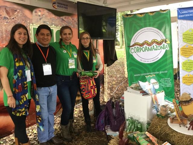 Empresarios de Negocios Verdes y Biocomercio de Amazonas, Caquetá y Putumayo se destacan en Bioexpo Colombia 2015