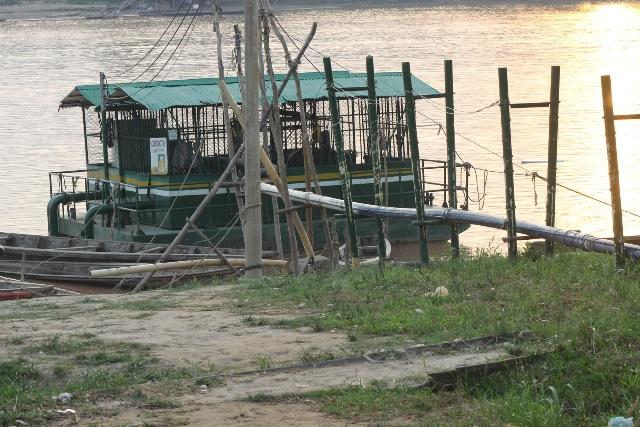 Bocatoma del Acueducto de Leguízamo, en alerta por bajo nivel del rio.