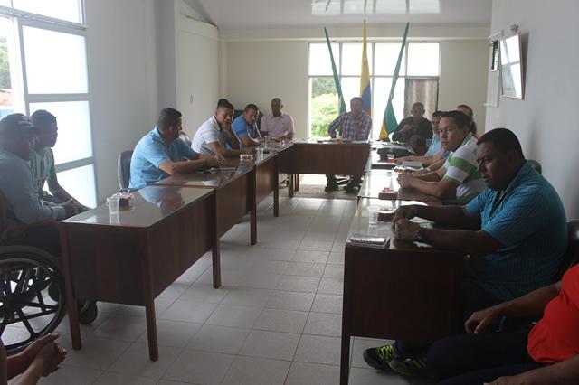 Toma de posesión del concejo Municipal de Leguízamo periodo 2016 – 2019.