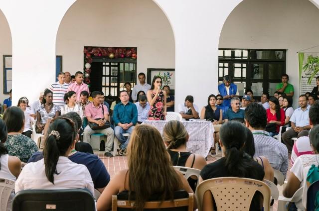 Nueva Gobernadora Sorrel Aroca presentó su gabinete