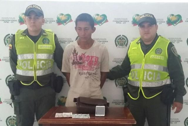 Capturado un hombre y un menor de edad por hurto de motocicleta y celular en Mocoa