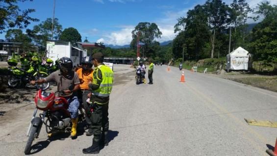 Indígenas mantienen protesta pacífica en el departamento de Putumayo