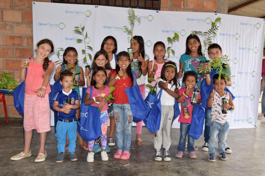 Más de 400 niños del Putumayo celebraron su díasiendo multiplicadores del cuidado del medio ambiente