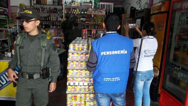 Incautados productos vencidos y de contrabando en la Dorada – San Miguel