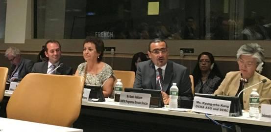Las Tejedoras de Vida participan en la Cumbre Internacional Humanitaria de Naciones Unidas en Nueva York.