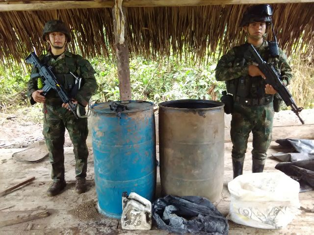 Continuan operaciones contra el narcotráfico en el Putumayo