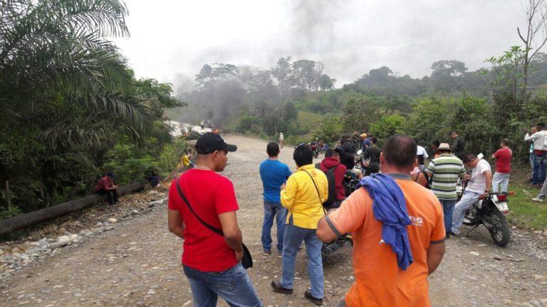 Fuerza pública realiza caravanas de seguridad a las empresas petroleras en el Putumayo