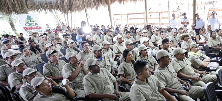 En Panaca se graduaron 323 líderes rurales