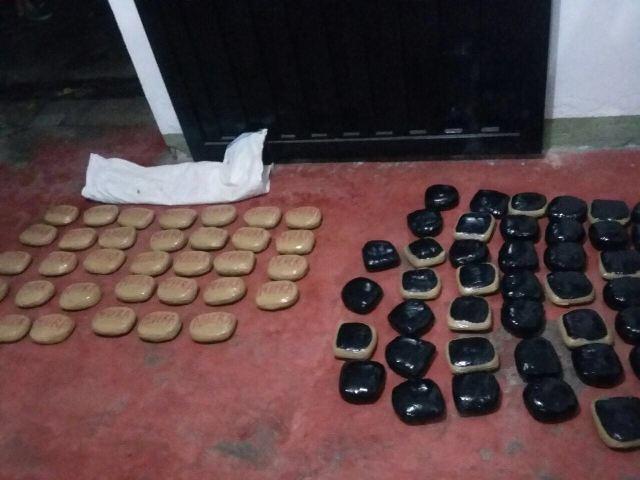 Brigada de Selva N° 27 decomisa 36 kilogramos de pasta a base de coca