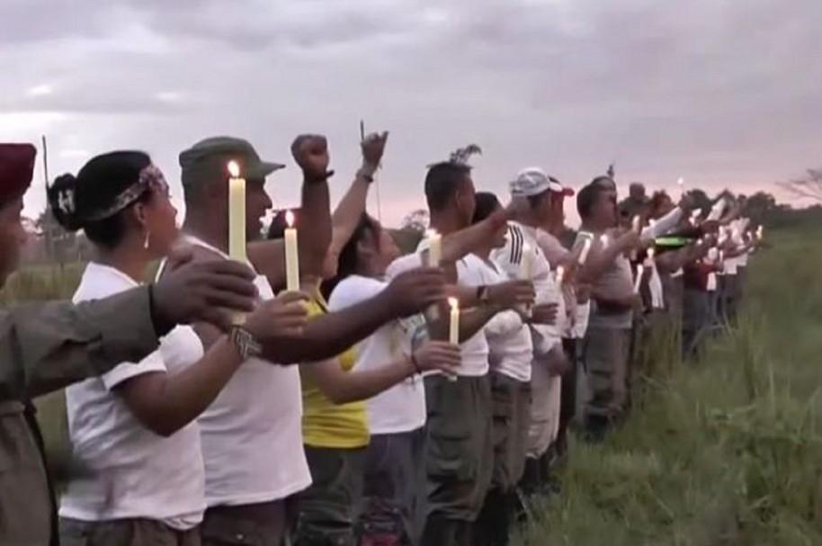 En 11 departamentos empiezan vigilias de paz convocadas por las Farc