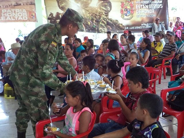 Jornada de Apoyo al Desarrollo en la vereda la Carmelita, Puerto Asís (P)