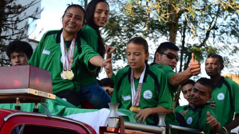 Putumayo se impuso con cinco medallas de oro en Open de Para-Atletismo realizado en Medellín