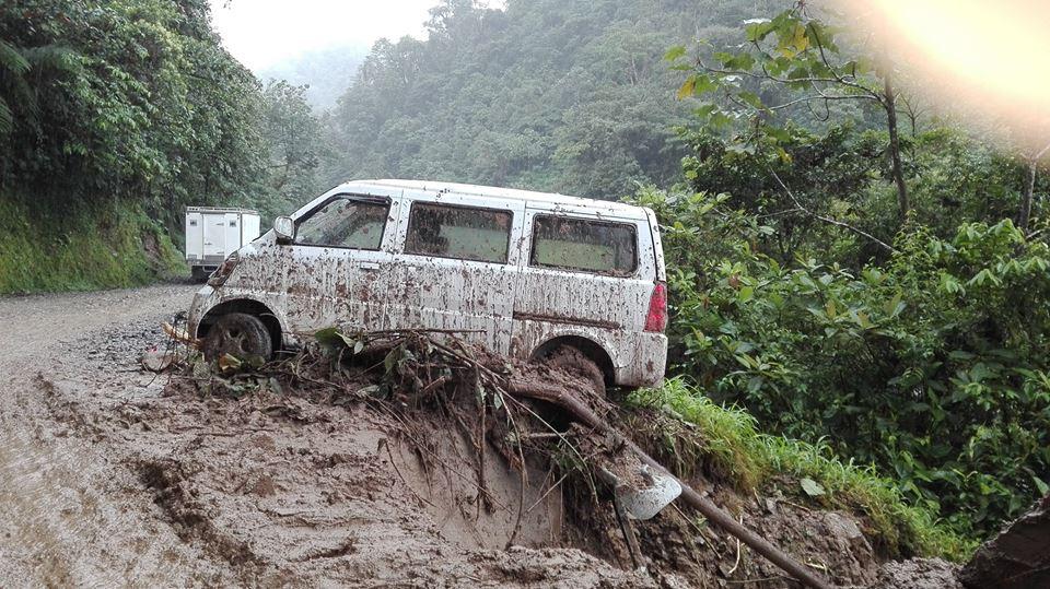 Emergencia vial en Putumayo, por culpa del invierno