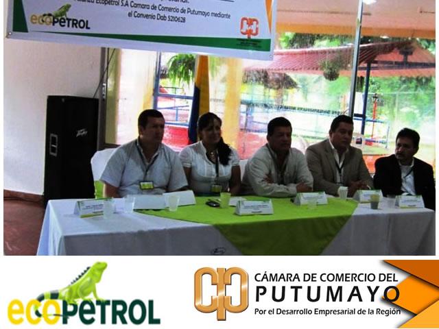 Ecopetrol y Cámara de Comercio fortalecen  economía del Putumayo