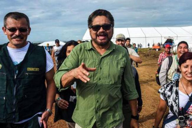 """""""Me voy satisfecho de la zona veredal del Putumayo""""; Iván Márquez"""