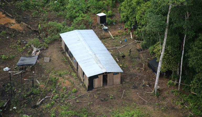 Los 50 hombres que pretenden quedarse con los terrenos de las Farc en Putumayo