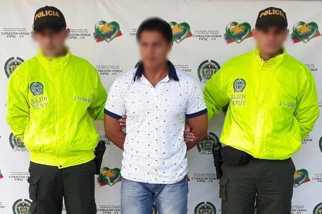 Se entrega presunto homicida de comerciante putumayense