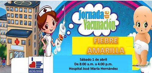 Jornada de Vacunación contra Fiebre Amarilla