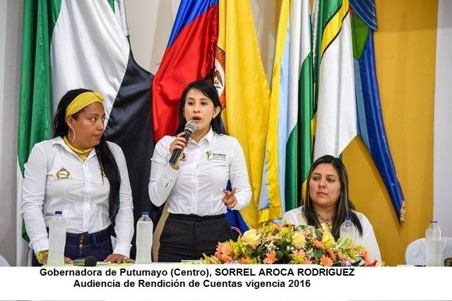 Fuerte mensaje de periodista de la radio putumeyense a la Gobernadora de Putumayo, Sorrel Aroca Rodríguez