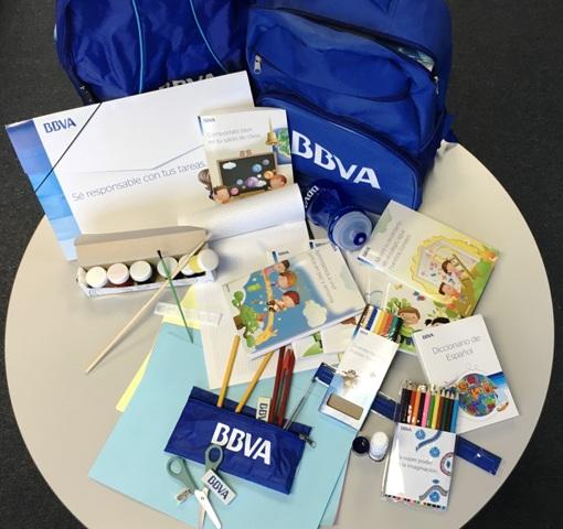 BBVA entregará en Mocoa 4.000 morrales con útiles escolares a las niñas y niños del municipio