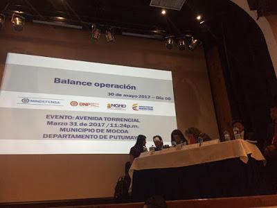 SENA participó en la Audiencia de Rendición de Cuentas sobre Mocoa ante la Procuraduría General de la Nación