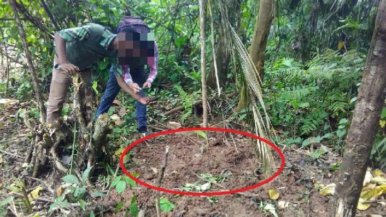 Hombre fue asesinado y enterrado en una fosa común en zona rural de San Miguel