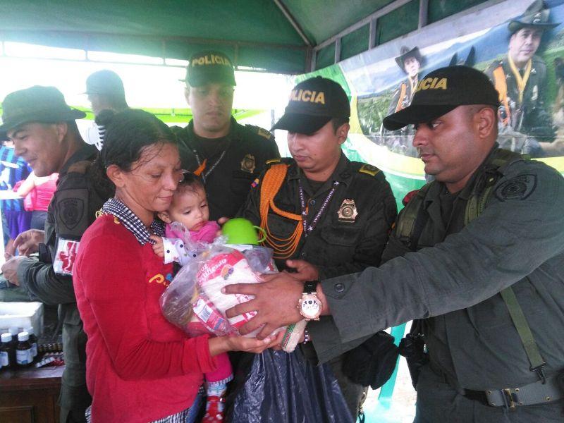 Oferta institucional en la Vereda Puerto Rosario, Puerto Guzmán