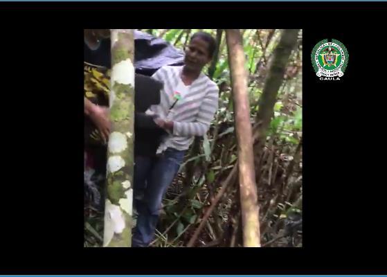 Video: así fue el rescate de la mujer secuestrada el jueves en el Putumayo