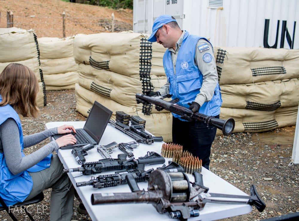 Misión de la ONU certifica entrega del 40% de las armas por las Farc y no el 60% como estaba previsto