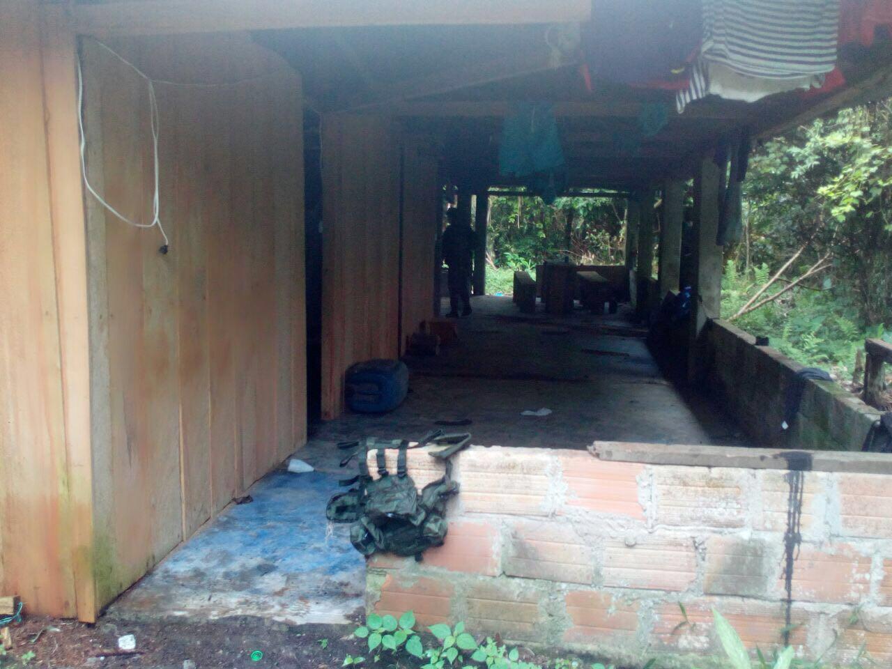 """Exitosa operación conjunta y coordinada en contra de """"La Constru"""" en Putumayo"""