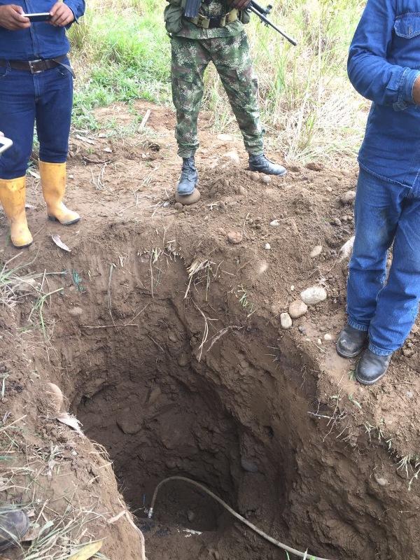 Válvula para la extracción ilegal de hidrocarburos fue sellada por el Ejército y funcionarios de Gran Tierra en Putumayo