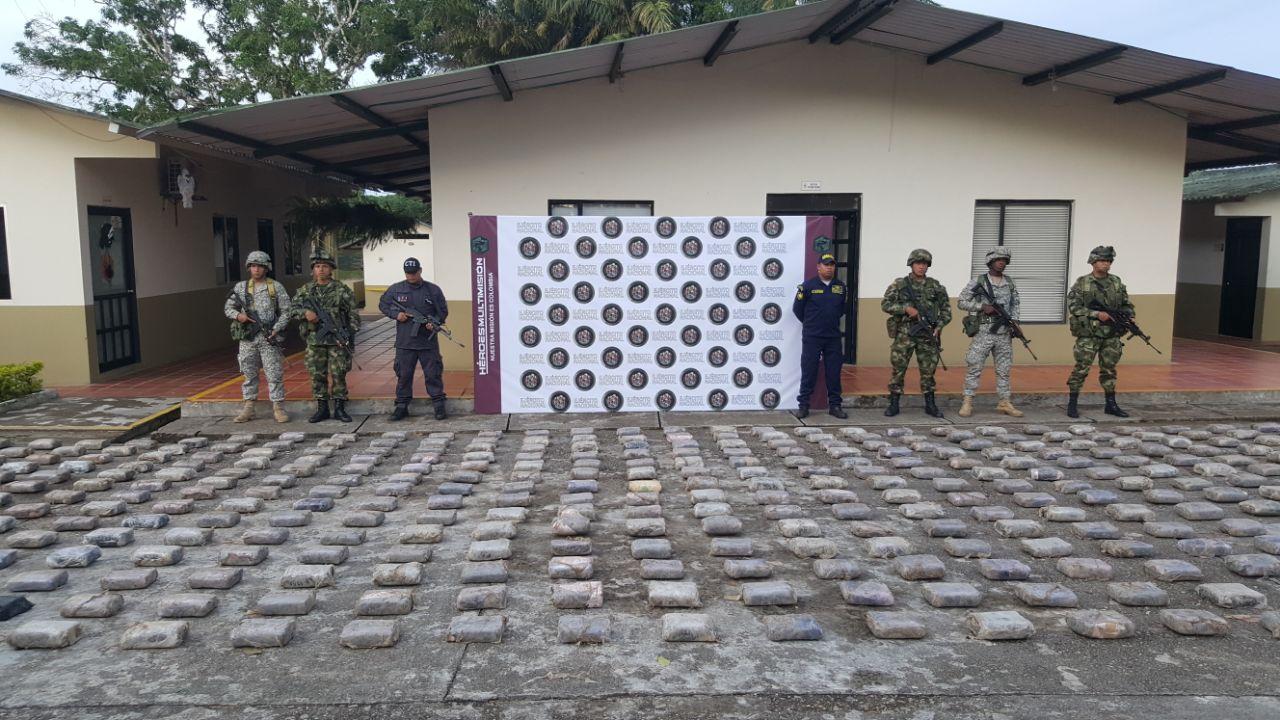 Armada Nacional en el Putumayo incauta 790 kg de marihuana
