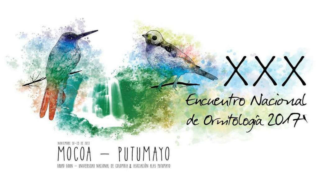 XXX Encuentro Nacional de Ornitología en Mocoa (Putumayo)