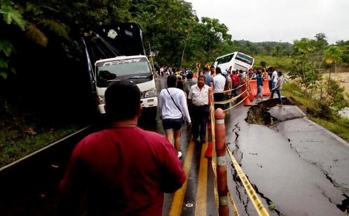 Con paro amenazan comunidades ante mal estado de vía Mocoa – Santana