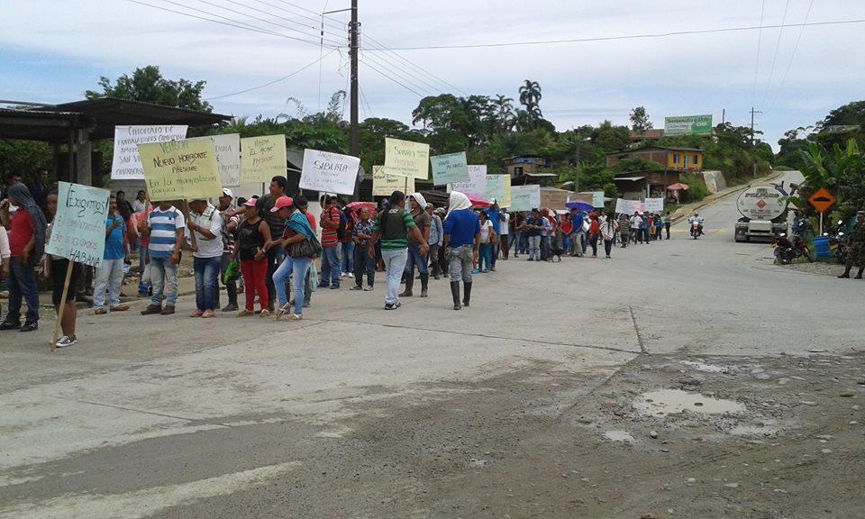 Campesinos del Bajo Putumayo en Movilización Pacífica