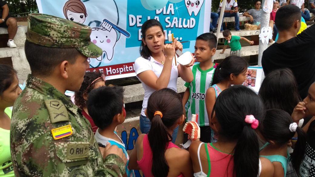 Con acción integral el Ejército Nacional continúa llegando al corazón de los putumayenses