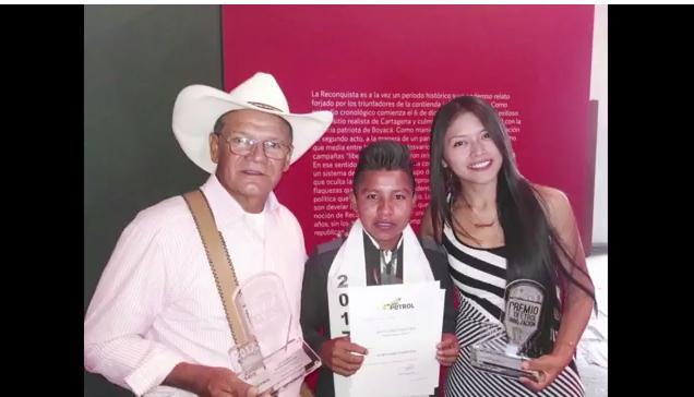 Tres Putumayenses en ceremonia de premiación Ecopetrol al Mejor Bachiller e Innovadores