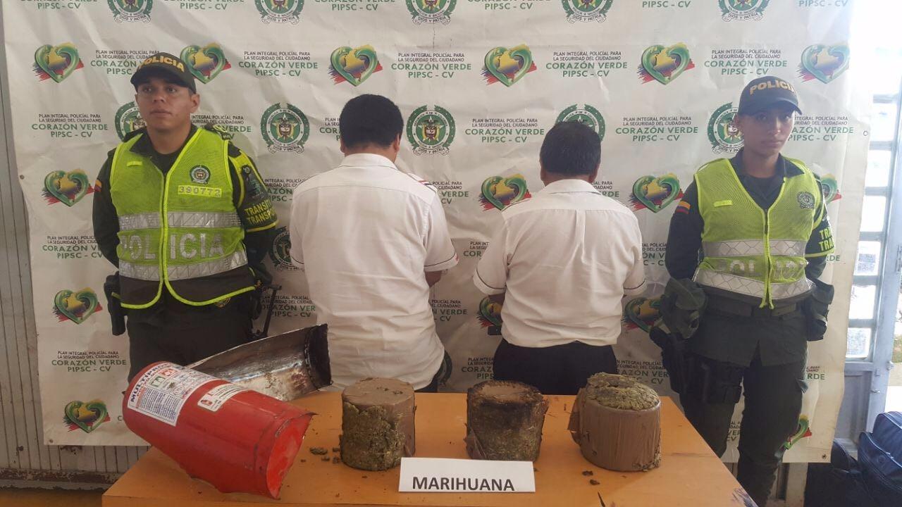 Dos personas capturadas por tráfico y fabricación de estupefacientes en Mocoa