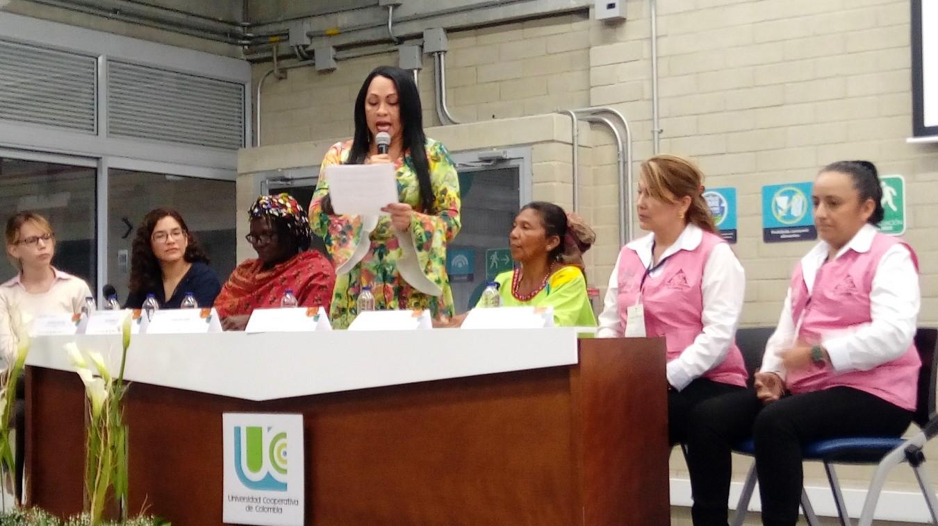 """Mujeres cafeteras del Huila comparte sus logros en el  Segundo Foro de la Unión de la Responsabilidad Social  Universitaria  de América Latina """"URSULA"""
