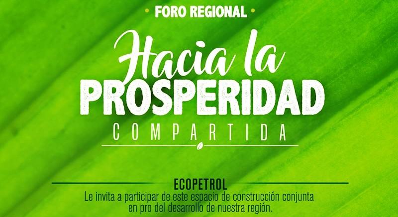Ecopetrol realiza foro para conversar acerca de 'prosperidad compartida' en Putumayo