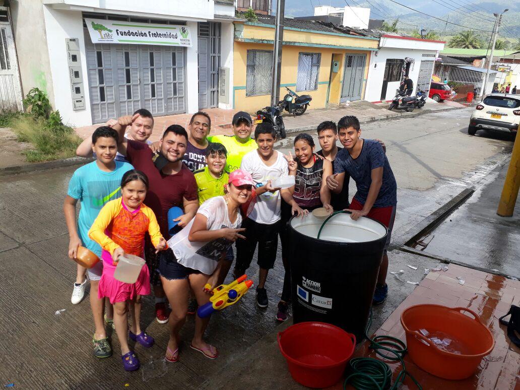 Asi se vivió el Carnaval del Agua en Mocoa en el día de Inocentes 2017